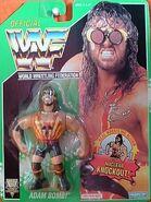 WWF Hasbro 1994 Adam Bomb Green