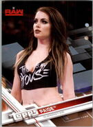 2017 WWE Wrestling Cards (Topps) Paige 27
