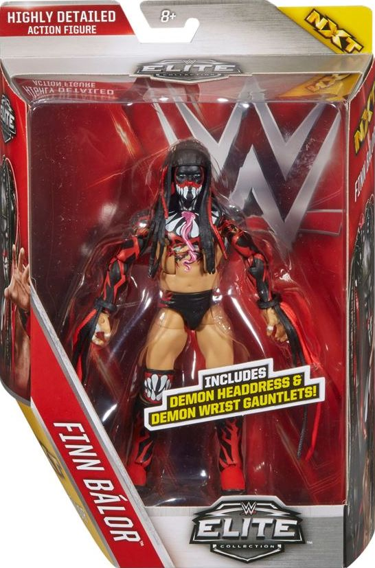 WWE FINN BALOR 41 DEMON ELITE ACCESSORIES SERIES MATTEL WRESTLING ACTION FIGURE