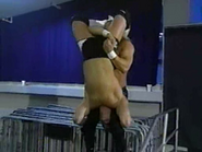 Jerry Lynn cradle piledriver AJ Styles