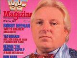 WWF Magazine - October 1987