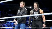 Roman-Reigns-And-Dean-Ambrose-In-The-Ring