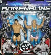 WWE Adrenaline Series 13 Luther Reigns & Kurt Angle
