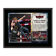 WWE TLC 2015 Dean Ambrose 10.5 x 13 Photo Collage Plaque