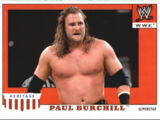 2008 WWE Heritage IV Trading Cards (Topps) Paul Burchill (No.40)