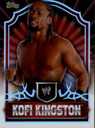 2011 Topps WWE Classic Wrestling Kofi Kingston 41