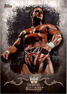 2016 Topps WWE Undisputed Wrestling Cards The British Bulldog 51