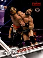 2017 WWE (Topps) Then, Now, Forever Ariya Daivari 107