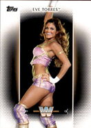 2017 WWE Women's Division (Topps) Eve Torres 38