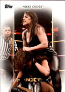 2017 WWE Women's Division (Topps) Nikki Cross 9