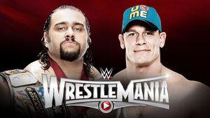 Cena vs Rusev - WrestleMania 31