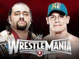 WrestleMania 31 John Cena v Rusev