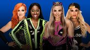 FL 2018 Becky Lynch & Naomi v Natalya & Carmella