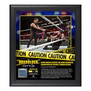 Kevin Owens RoadBlock 2016 15 x 17 Framed Plaque w Ring Canvas