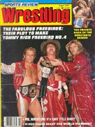 Sports Review Wrestling - August 1981