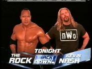 The Rock vs Kevin Nash