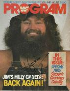 WWF Wrestling Program - Volume 131