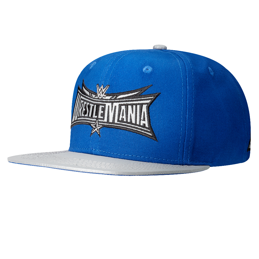 4dc4686fb66 WrestleMania 32 Navy Snapback Hat