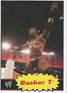 2012 WWE Heritage Trading Cards Booker T 45
