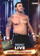 2013 TNA Impact Wrestling Live Trading Cards (Tristar) Garett Bischoff 12