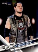 2017 WWE (Topps) Then, Now, Forever Baron Corbin 139