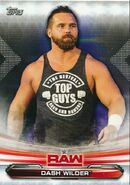 2019 WWE Raw Wrestling Cards (Topps) Dash Wilder 22