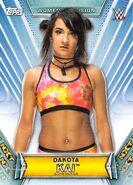 2019 WWE Women's Division (Topps) Dakota Kai 35