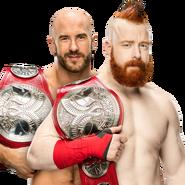 Cesaro & Sheamus WWE Raw Tag Team Champions