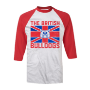 Davey Boy Smith Bulldog Baseball T-Shirt