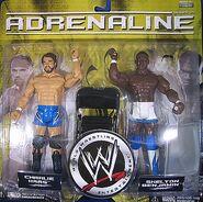 WWE Adrenaline Series 5 Charlie Haas & Shelton Benjamin