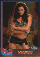 2008 WWE Heritage III Chrome Trading Cards Maria Kanellis 65