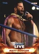 2013 TNA Impact Wrestling Live Trading Cards (Tristar) Matt Morgan 63