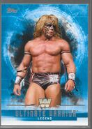 2017 WWE Undisputed Wrestling Cards (Topps) Ultimate Warrior 70