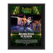 Breezango Money in the Bank 2017 10 x 13 Commemorative Photo Plaque