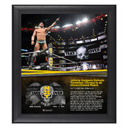 Johnny Gargano NXT TakeOver New Orleans 15 x 17 Framed Plaque