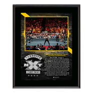 Undisputed Era NXT TakeOver Chicago 10 x 13 Plaque