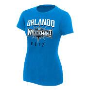 WrestleMania 33 Orlando Blue Women's T-Shirt