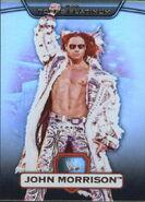 2010 WWE Platinum Trading Cards John Morrison 93