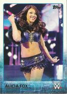 2015 WWE (Topps) Alicia Fox 4