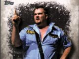 2016 Topps WWE Undisputed Wrestling Cards Big Boss Man (No.45)