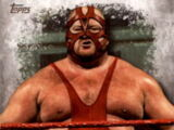2016 Topps WWE Undisputed Wrestling Cards Vader (No.97)