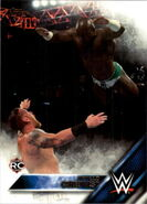 2016 WWE (Topps) Then, Now, Forever Apollo Crews 103