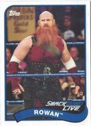 2018 WWE Heritage Wrestling Cards (Topps) Rowan 117
