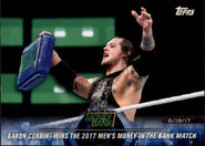 2018 WWE Road to Wrestlemania Trading Cards (Topps) Baron Corbin 92