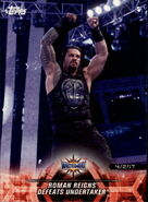 2018 WWE Road to Wrestlemania Trading Cards (Topps) Roman Reigns 28