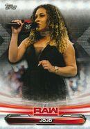 2019 WWE Raw Wrestling Cards (Topps) JoJo 38
