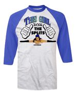 Melina Melina Girl Baseball Shirt
