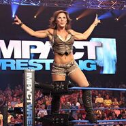 Mickie James Ring Pose