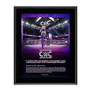 TJ Perkins Cruiserweight Classic 2016 15 x 17 Commemorative Plaque