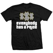 Ted DiBiase Everybody Has A Price T-Shirt